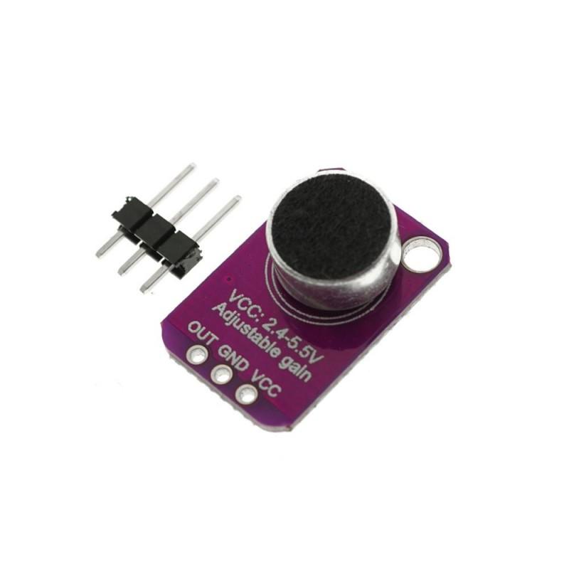 Microfon cu amplificare cu MAX4466 ajustabil OKY3137
