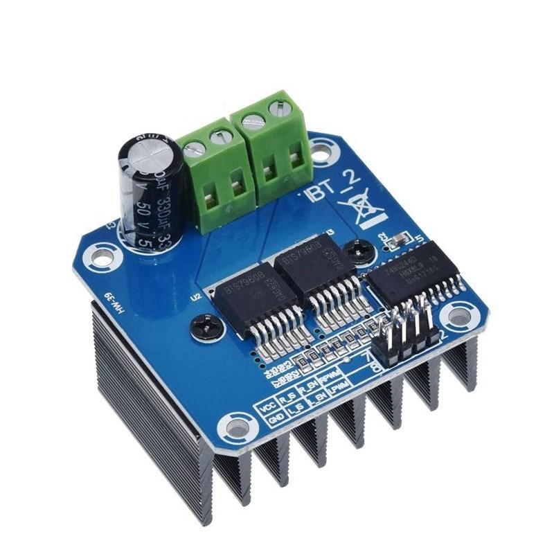 Modul driver motor D1 I2C 12v 1.2A 3.2A Max Peak OKY3195-3