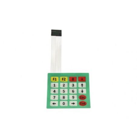 OKY0272-2  Tastatura cu 20 taste 5x4 alfanumerica pentru aplicatii electronice 10107400