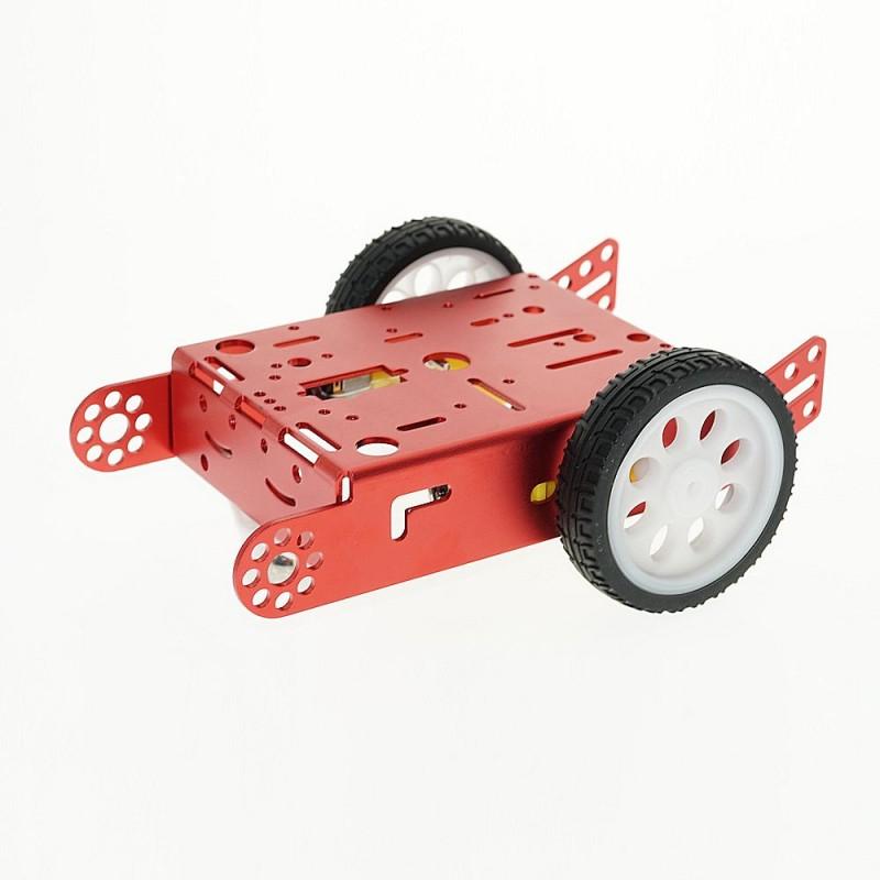 OKY5024-1 Kit sasiu din aluminiu cu motoare si roti pentru roboti 10107398