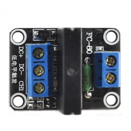 OKY3041 Modul cu 1 releu SSR 5v tensiune comanda low level max.240V 2A 10107393