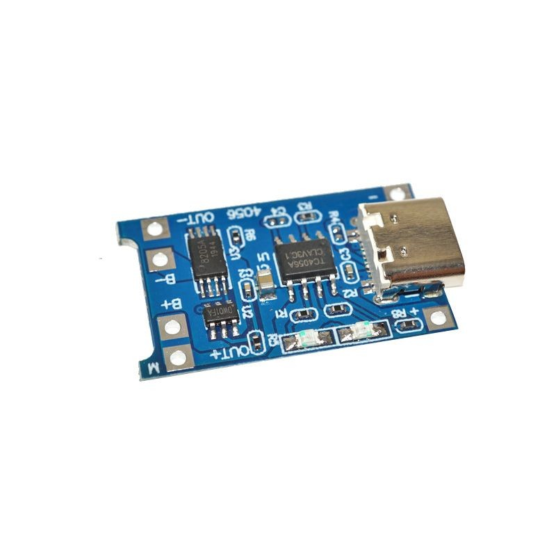 Circuit de incarcare 1 acumulator Li-Ion 18650 Type C cu