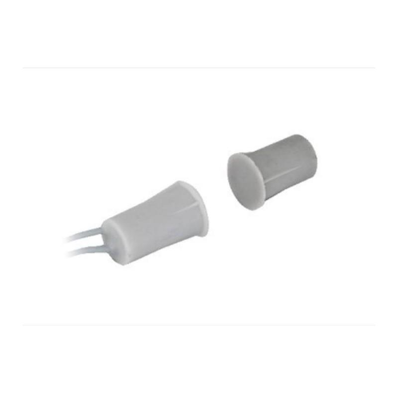 Contact magnetic ingropat alb RC-33