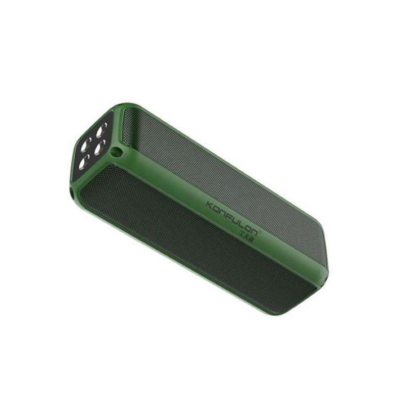 Boxa Bluetooth portabila Konfulon F6,verde