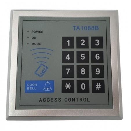 Tastatura control acces cu cod-tag-buton sonerie TA1088B