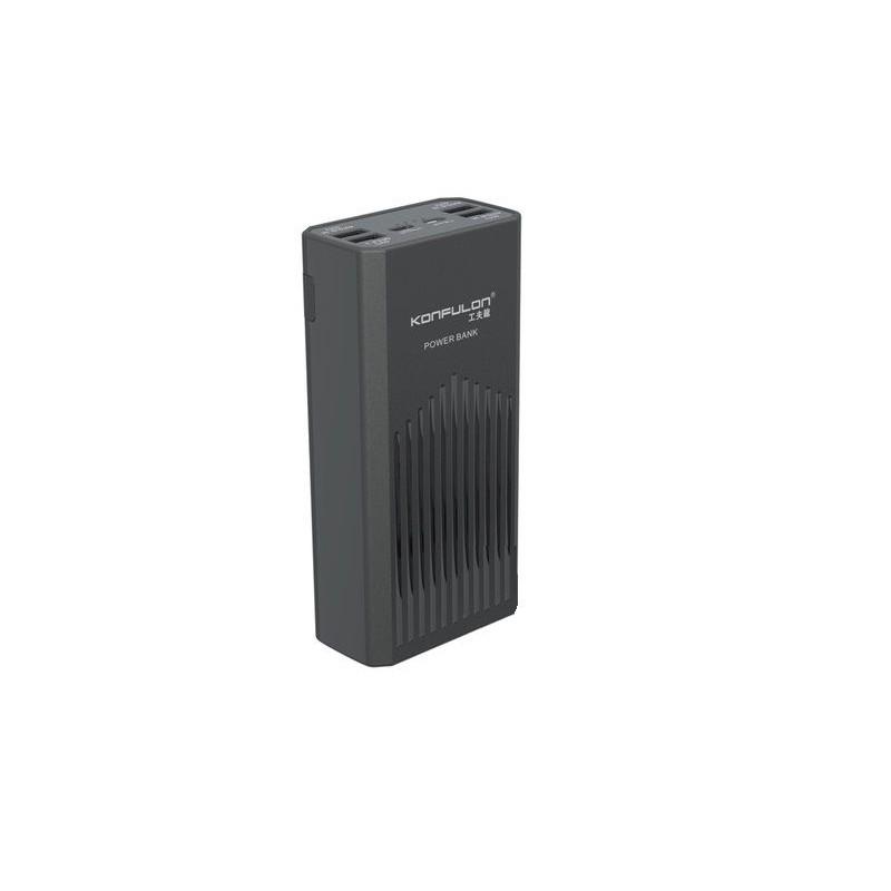 Acumulator extern 40000mAh QC 3.0 PD Konfulon P40Q negru