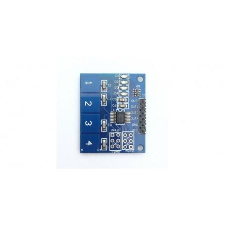 Modul cu senzor tactil capacitiv TTP224 OKY3421