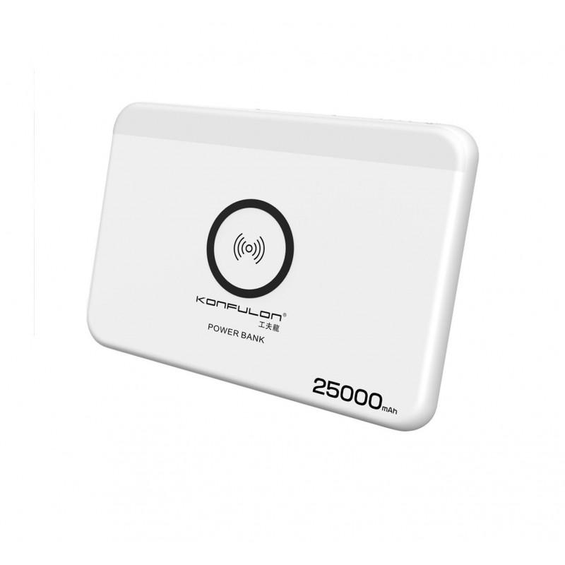 Acumulator extern 25000mAh wireless Konfulon PS-02
