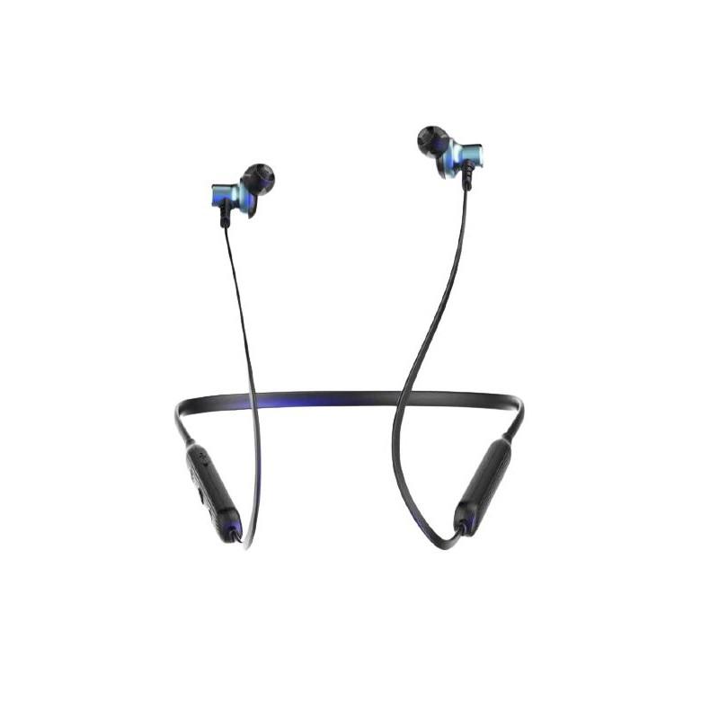 Casti Bluetooth Wireless cu microfon Konfulon BHS-09 alb