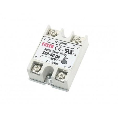 Modul releu electronic SSR-60DA, 60 A, 24 - 380 V AC
