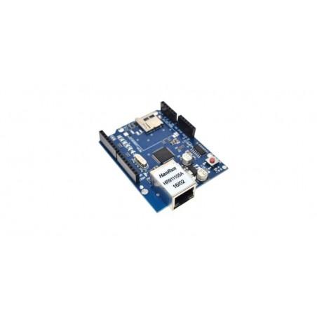 Modul de extindere placa de retea W5100 cu card SD