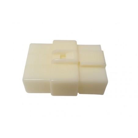 Mufa conector cablu-cablu 6pini plastic cu blocare