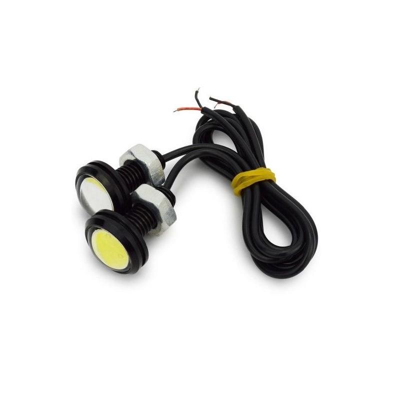 LED auto -3W 23mm montaj ingropat -Set