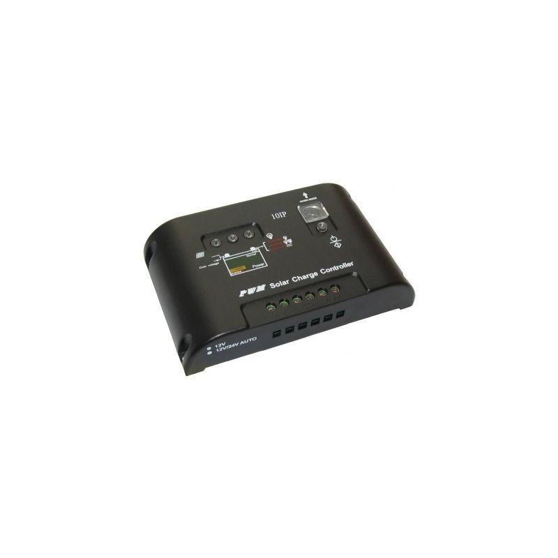 Controller incarcare solara PWM, 10A, 12V-24V, Pvmax: 42V