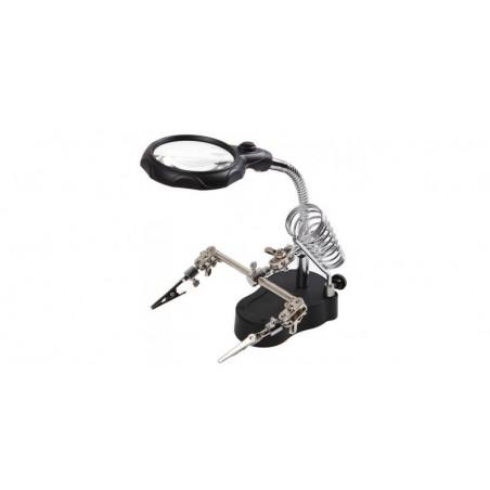 Lupa pentru atelier electronic cu iluminare - MG16126-A