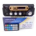 Amplificator Mxz Ak-B1 Hi-Fi stereo mp3 player