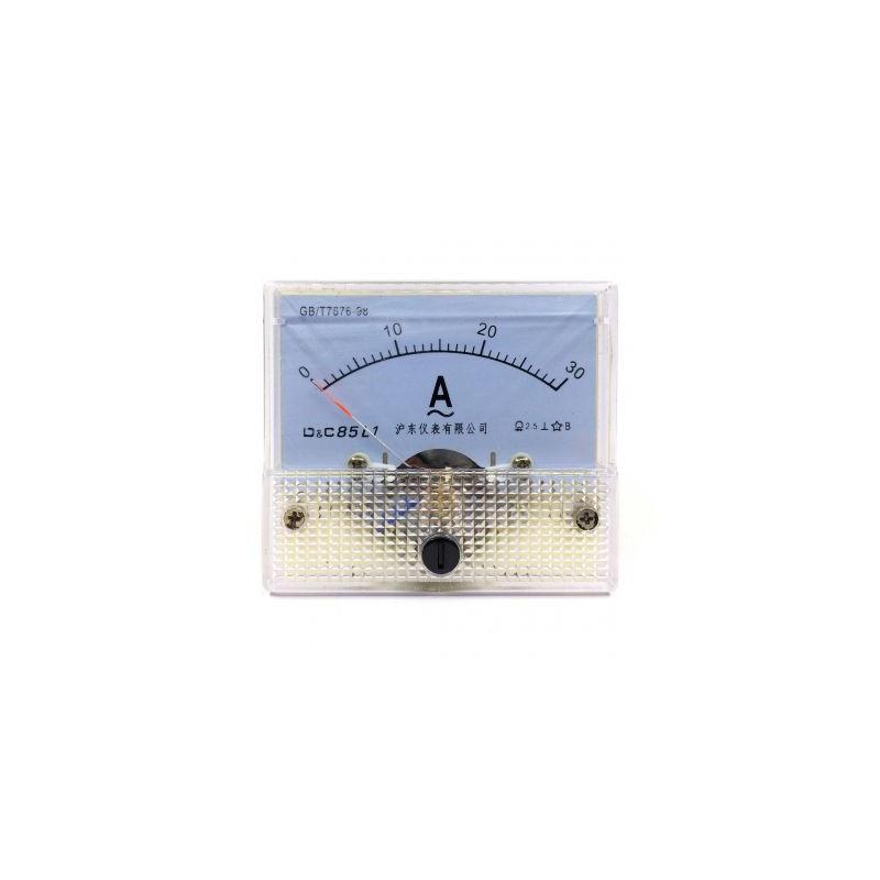 Ampermetru analogic de panou 30A curent alternativ
