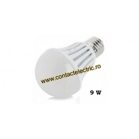 Bec LED E27 9W